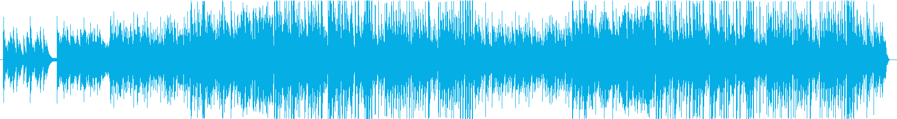優しく切ないピアノメインのバラードの再生済みの波形