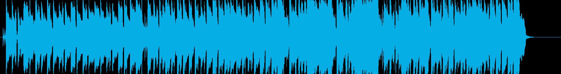 小学校の音楽室から聞こえてくるような演奏の再生済みの波形
