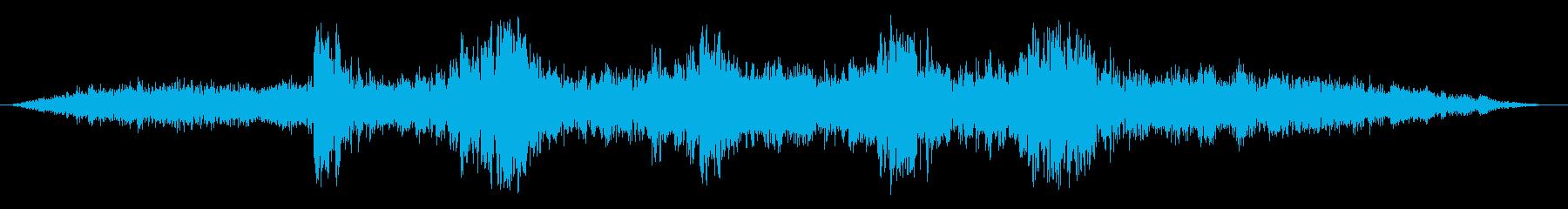 ダークなアンビエント 30秒版の再生済みの波形