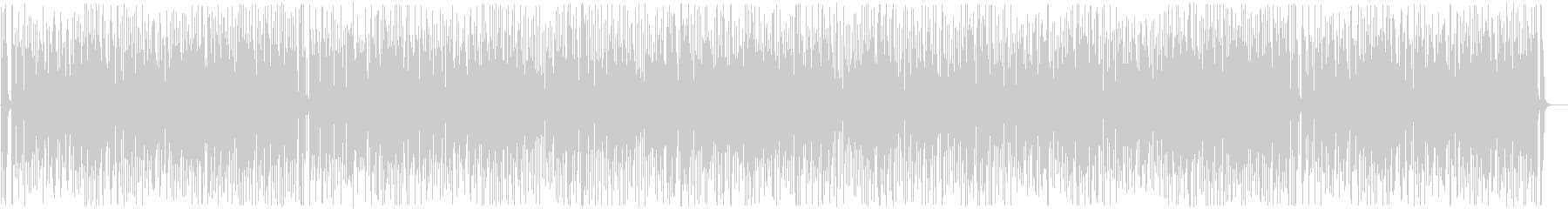 Exciting and fashionable cute songs's unreproduced waveform