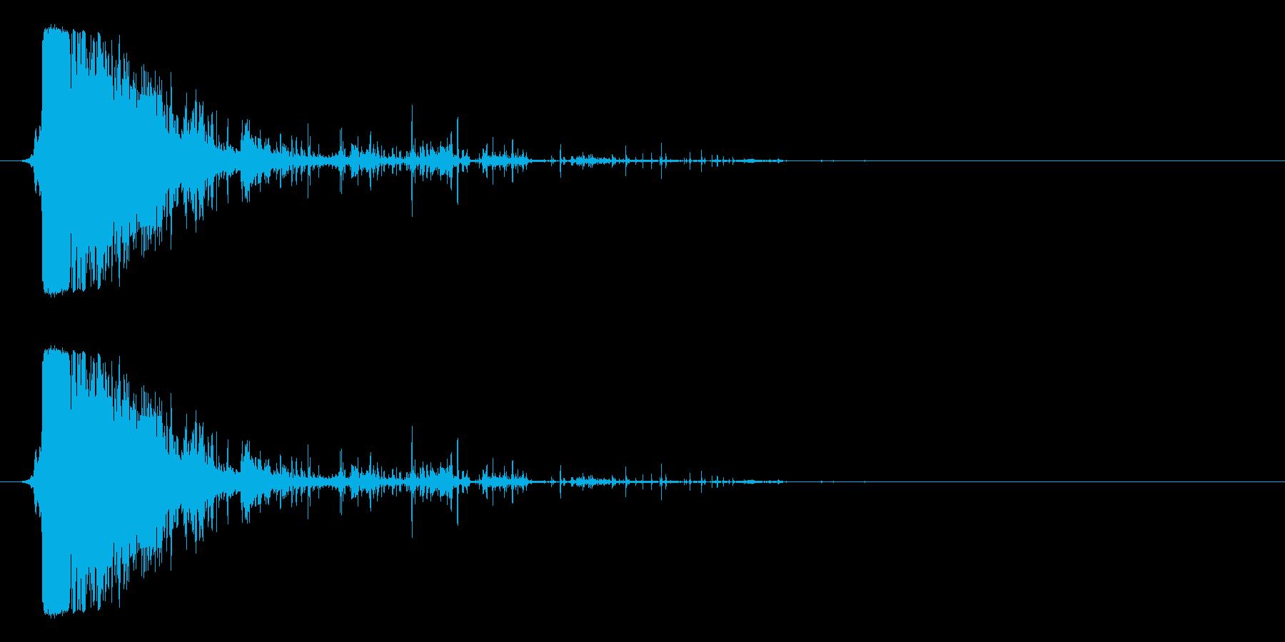剣・刀で斬る音_4の再生済みの波形