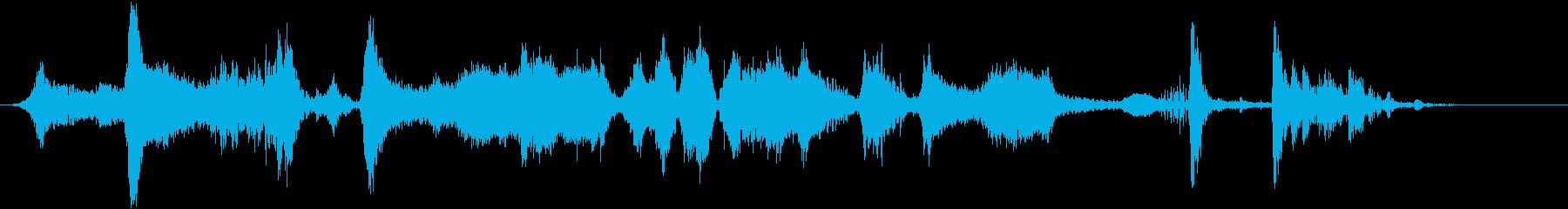 スティンガー; Whooshesを...の再生済みの波形