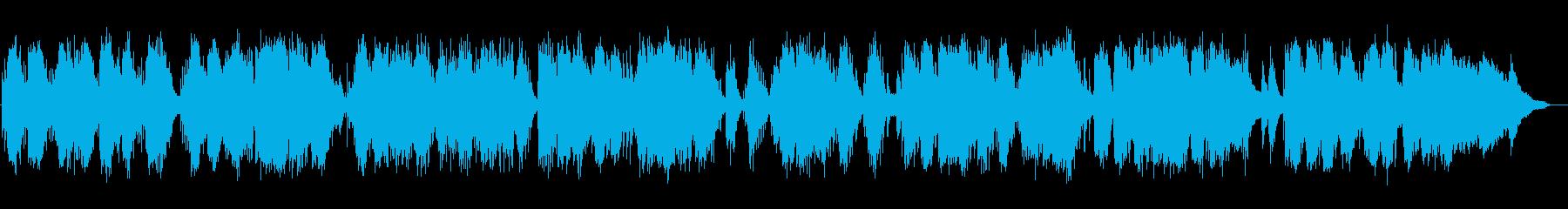 水のようなしっとりとしたピアノソロの再生済みの波形