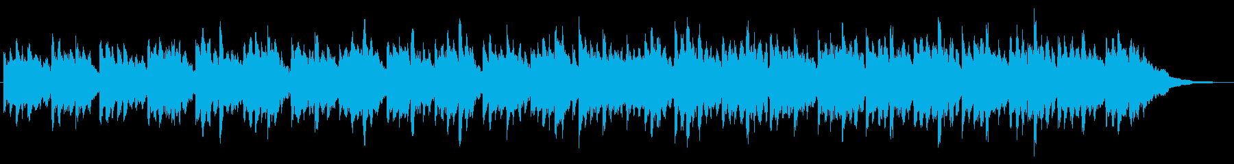 シンセの音色がかわいいジングル2の再生済みの波形