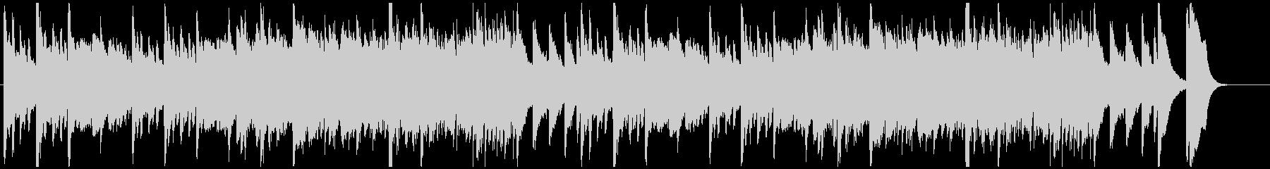 おばけホラーなBGMの未再生の波形