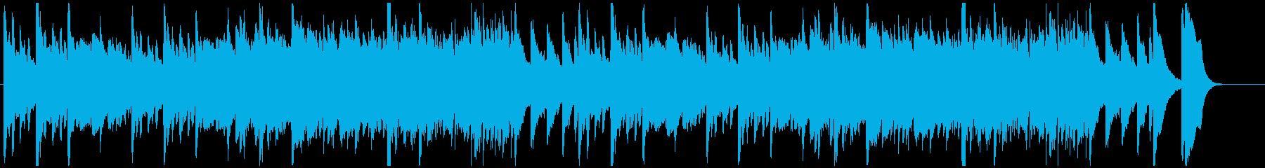 おばけホラーなBGMの再生済みの波形