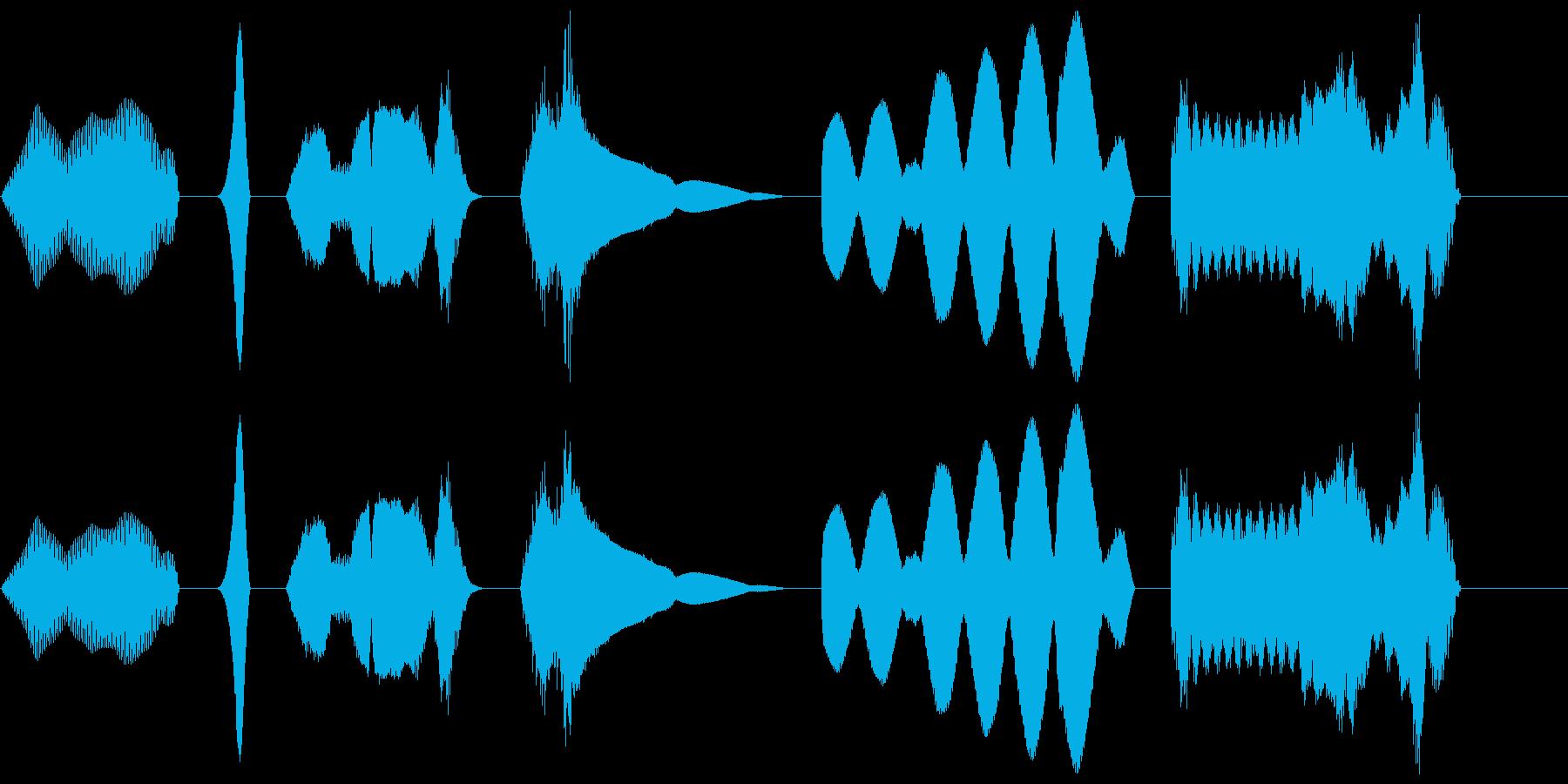 電磁気学1 X6の再生済みの波形