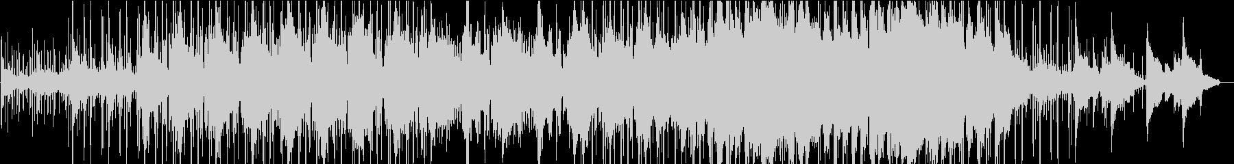 和風の癒しHipHop・ナイトルーティンの未再生の波形