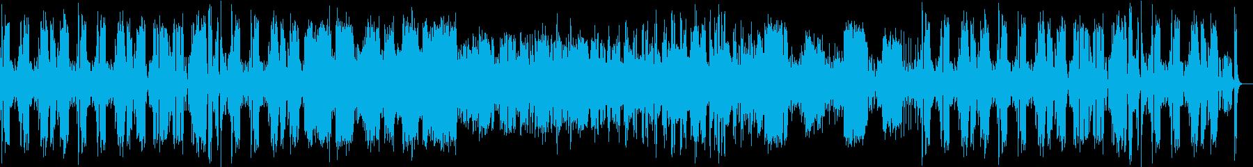 楽しいスイングジャズの再生済みの波形