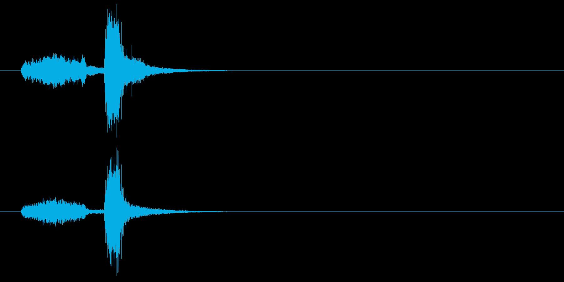 ジングル(ギャグ系)の再生済みの波形