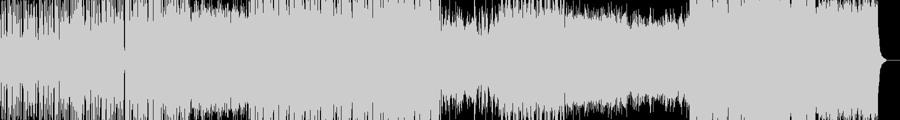 和風のヒップホップの未再生の波形