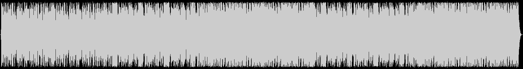 急展開、焦燥感を煽る曲の未再生の波形