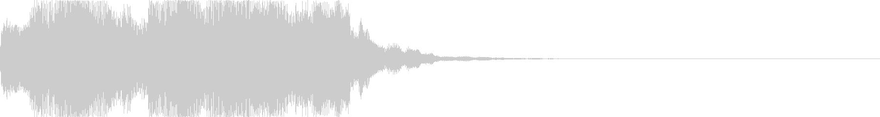 ピロリピロリピロリン(正解やアイテム)の未再生の波形