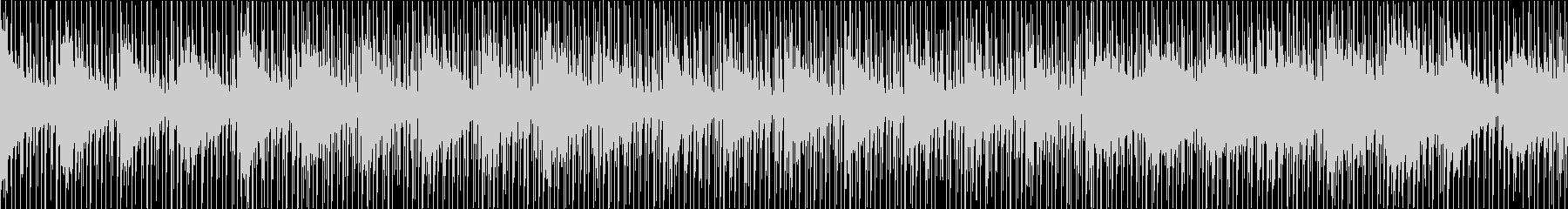 ドキュメンタリーなインスト(ループ)の未再生の波形