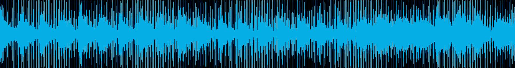 ドキュメンタリーなインスト(ループ)の再生済みの波形