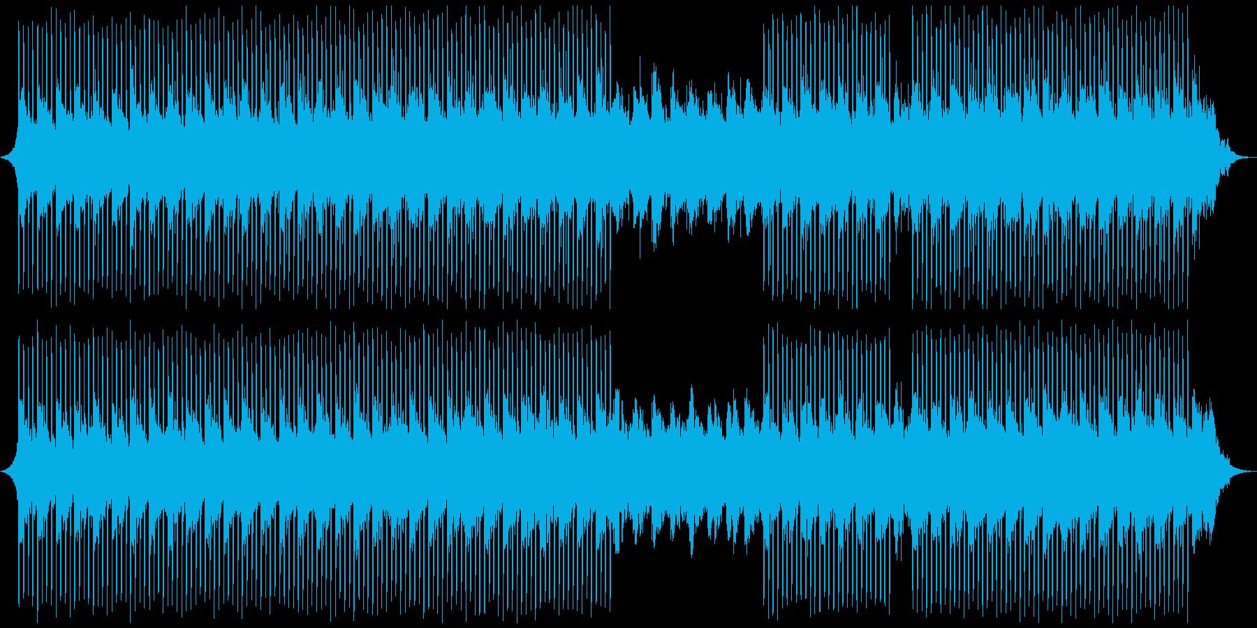 イベントコーポレートの再生済みの波形