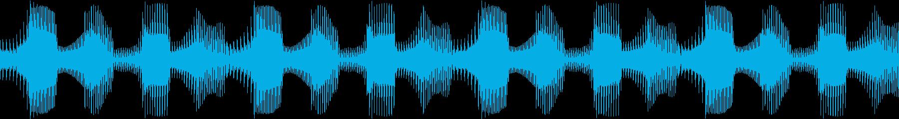 Techno ベース 4 音楽制作用の再生済みの波形