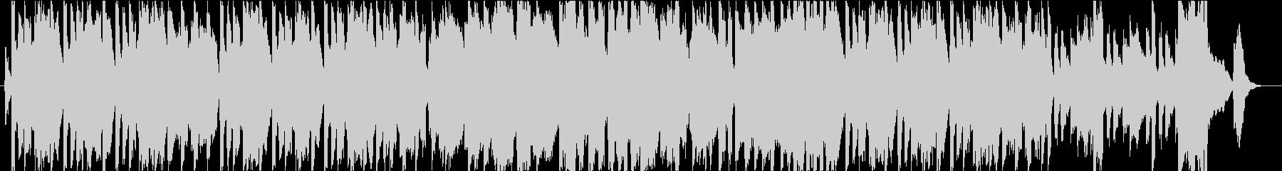 ハーモニカとハミングの爽やかなBGMの未再生の波形
