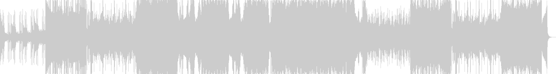 幻想的なフューチャーベース(声ネタ無し)の未再生の波形