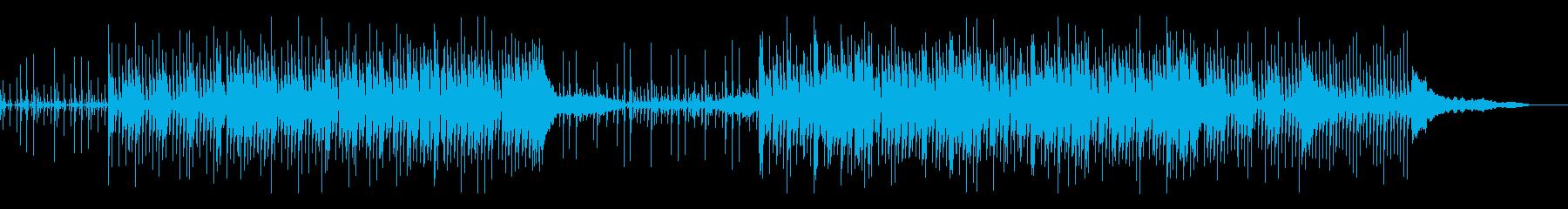 無機質、機械的なシネマティックの再生済みの波形