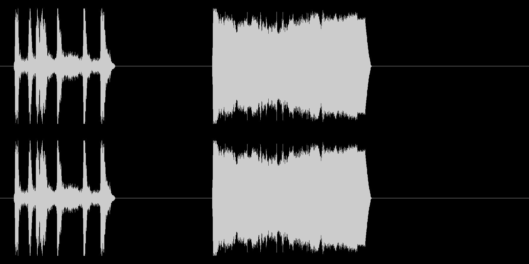 アルラレンティトラックの未再生の波形