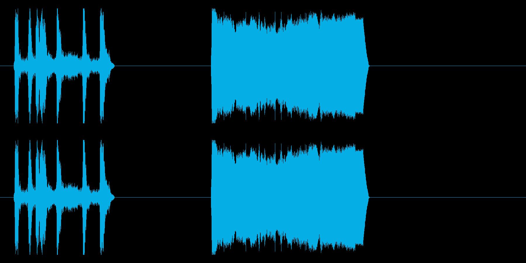 アルラレンティトラックの再生済みの波形
