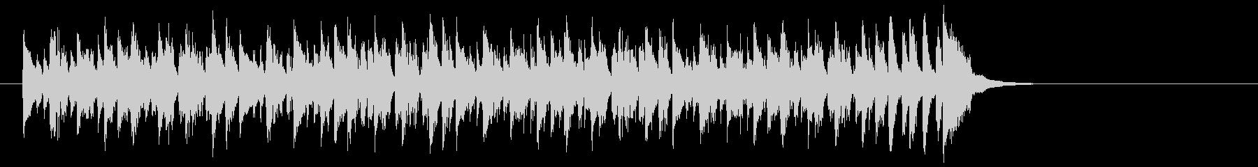 ワールド系サンバ風BGM(イントロ)の未再生の波形