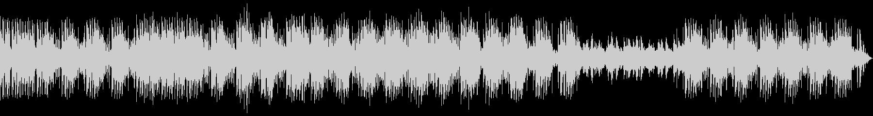 独特な雰囲気で響きが特徴的なメロディーの未再生の波形
