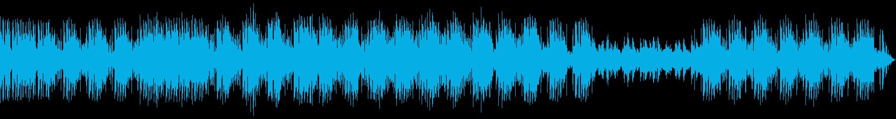 独特な雰囲気で響きが特徴的なメロディーの再生済みの波形