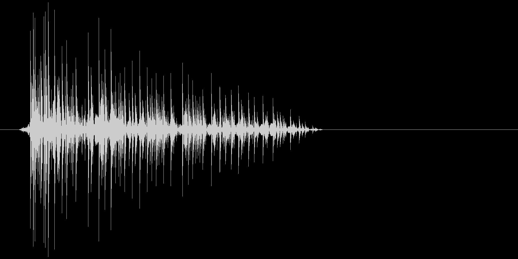 ゲーム(ファミコン風)爆発音_003の未再生の波形