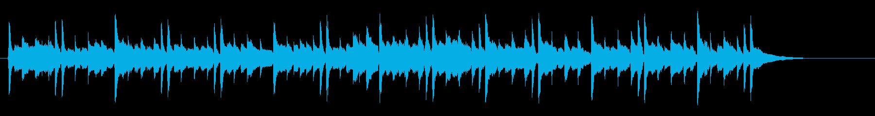 鳴り響くアルペジオギターは、きらめ...の再生済みの波形