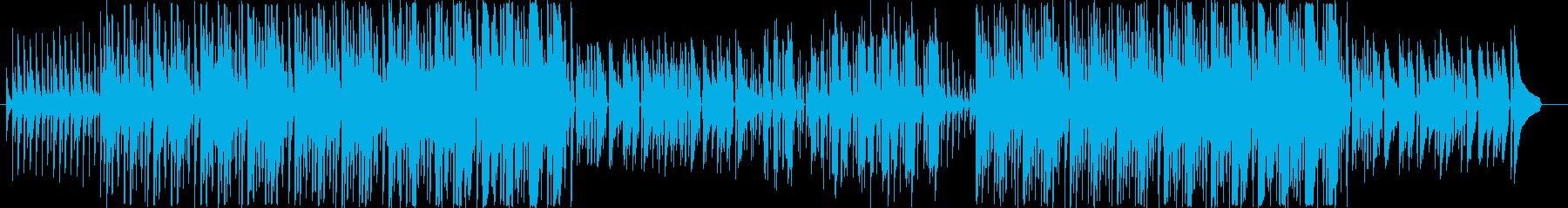 とてもほのぼのとした楽曲です。生楽器が…の再生済みの波形