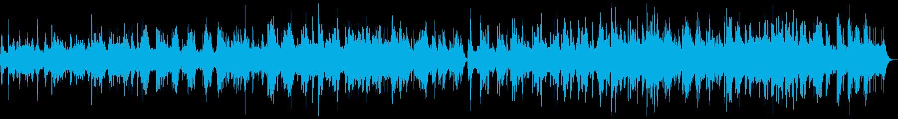 海や神秘的な癒しのイメージ(波音無し)の再生済みの波形