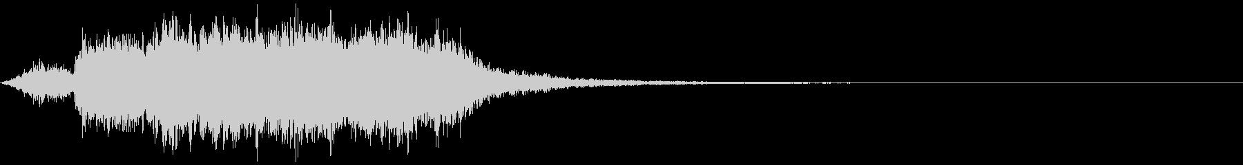 【ホラー】SFX_12 奇妙な音の未再生の波形