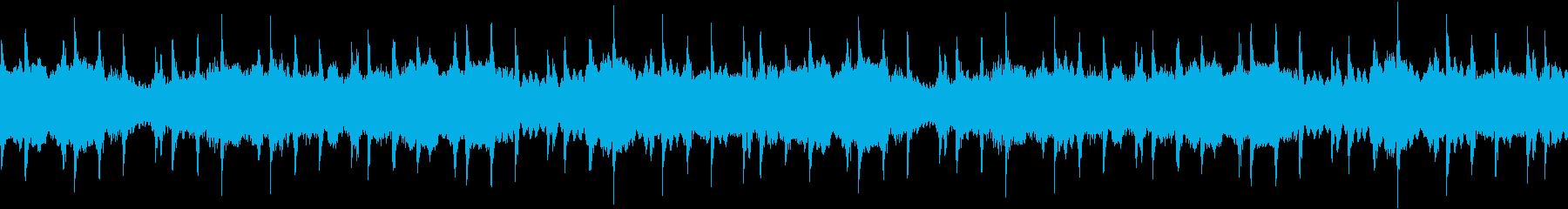 ゲームのメニュー画面【ループ】の再生済みの波形