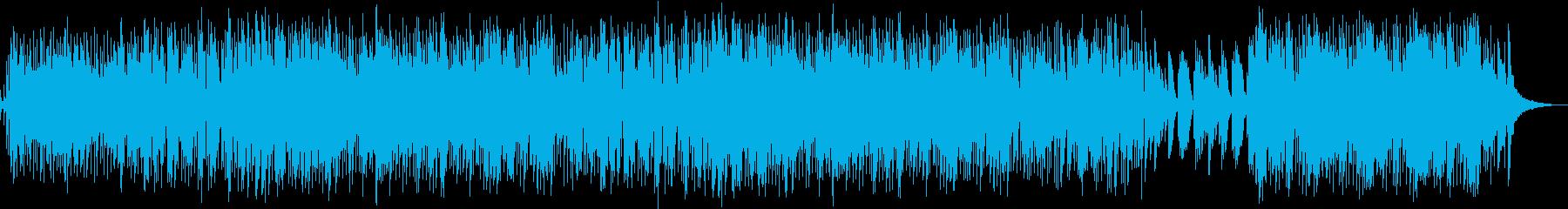 デート中のBGMの再生済みの波形