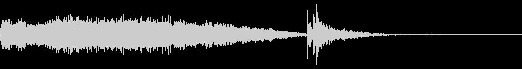FMラジオ的ジングル13の未再生の波形