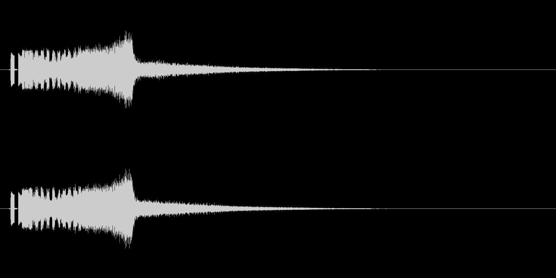 ラジオジングルキットFMジングルの未再生の波形