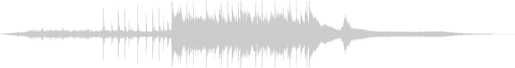 オープニング・アイコン・サウンドロゴの未再生の波形