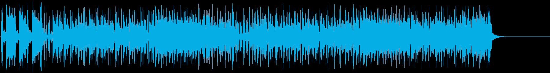 パリテイストの笑顔の似合うボサノバの再生済みの波形