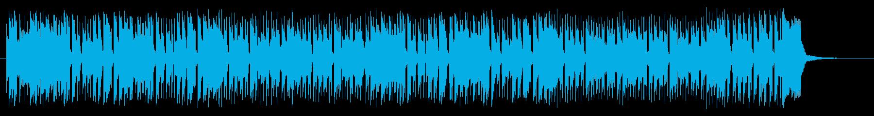 トランペットの楽しくパワフルなポップスの再生済みの波形