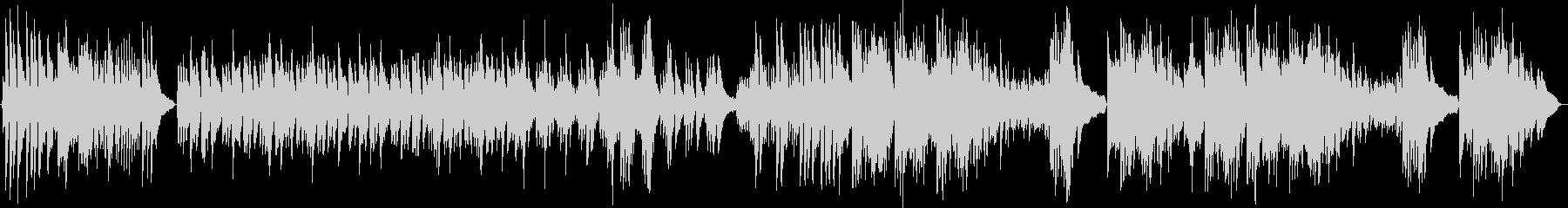 明るくポップなピアノソロの未再生の波形