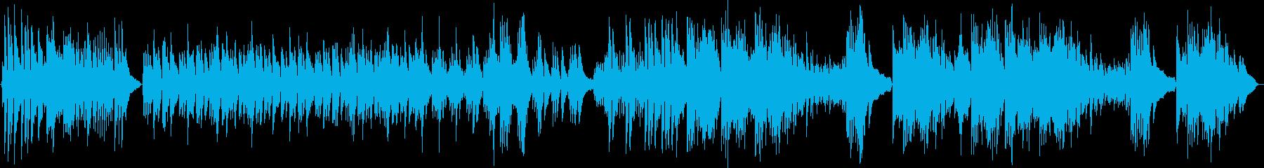 明るくポップなピアノソロの再生済みの波形