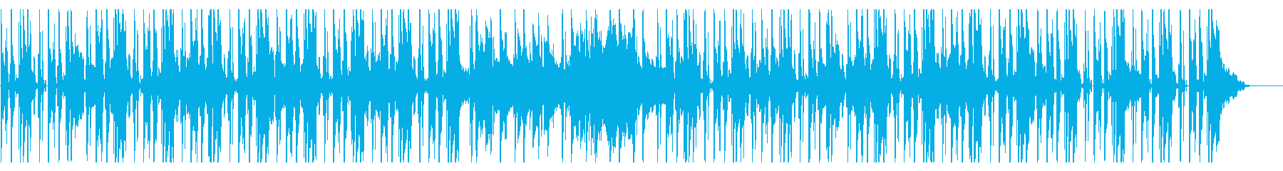アウトドアでワイワイなイメージの再生済みの波形