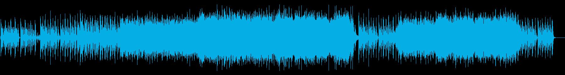 軽やかで明るくなれる日常系BGMの再生済みの波形