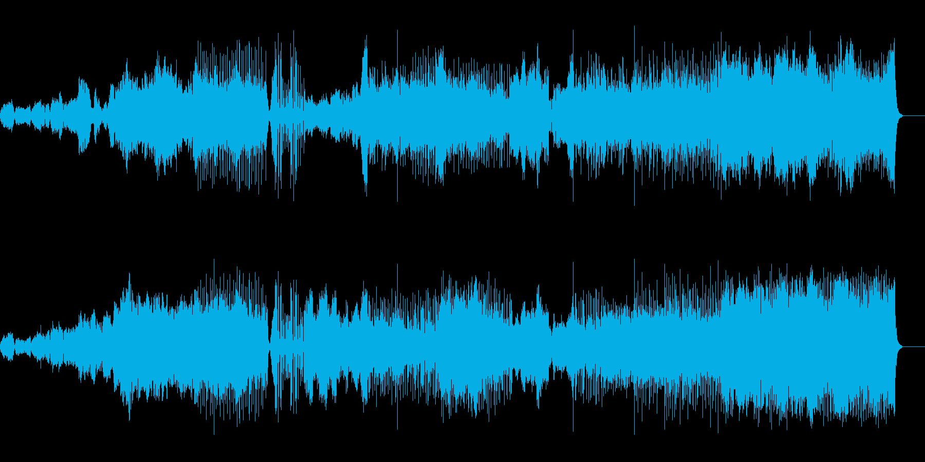 リズミカルなオーケストラの再生済みの波形