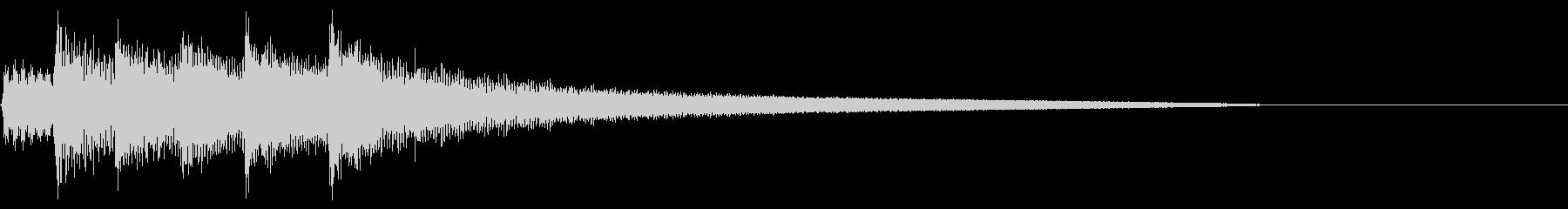 さびしい アルペジオ ナイロンギターの未再生の波形
