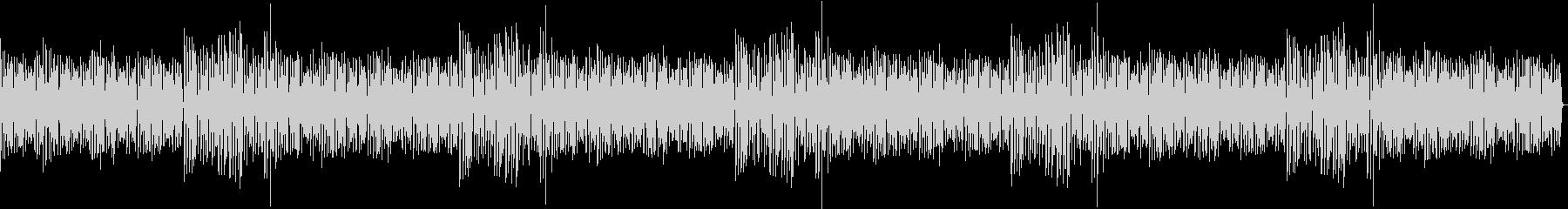 ローファイなベースメインの幻想的なBGMの未再生の波形