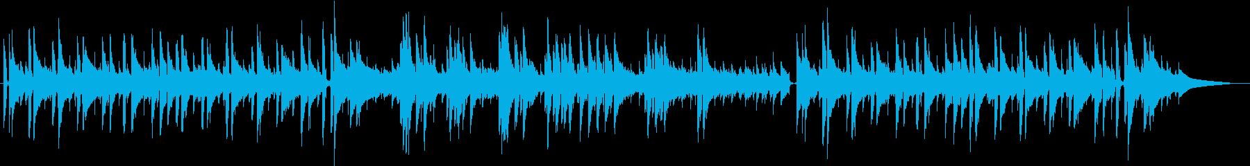 ほのぼの・日常・散歩道・ギター生演奏の再生済みの波形