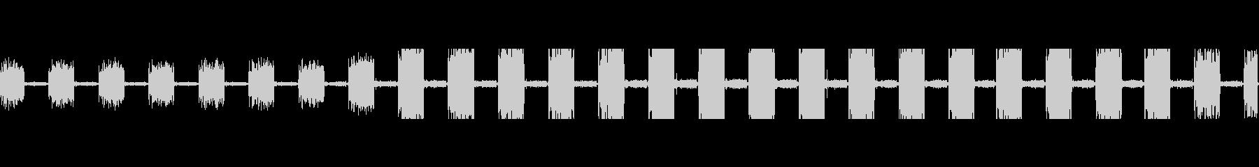 コンピュータープリンターアタリイン...の未再生の波形